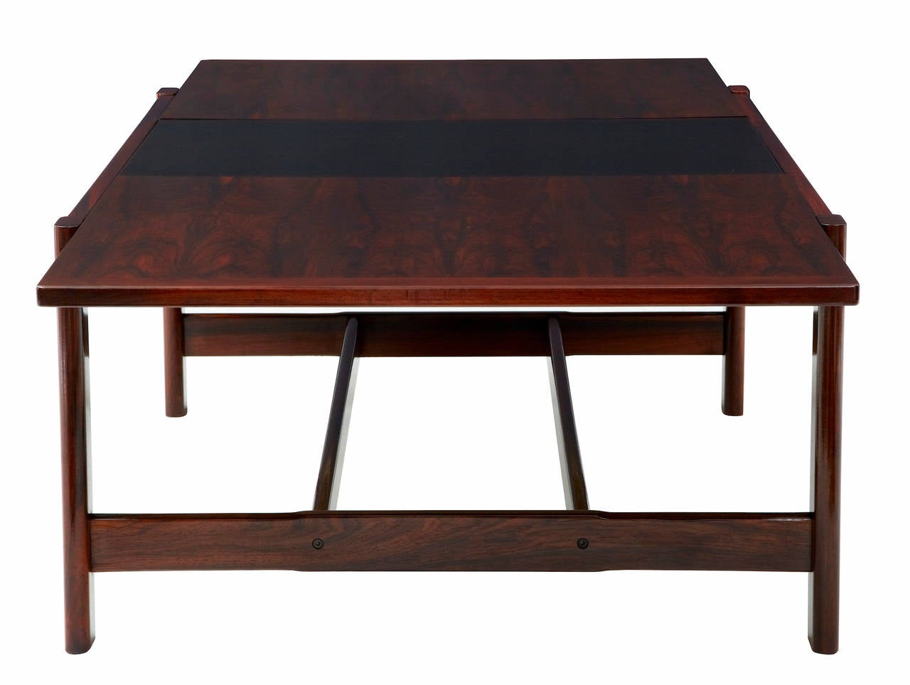 20th Century Danish Rosewood Extending Coffee Table For Sale At 1stdibs