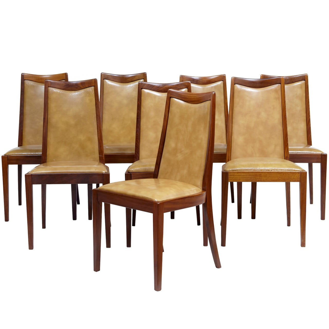 Set of eight 1960s teak retro g plan dining chairs at 1stdibs for G plan dining room unit