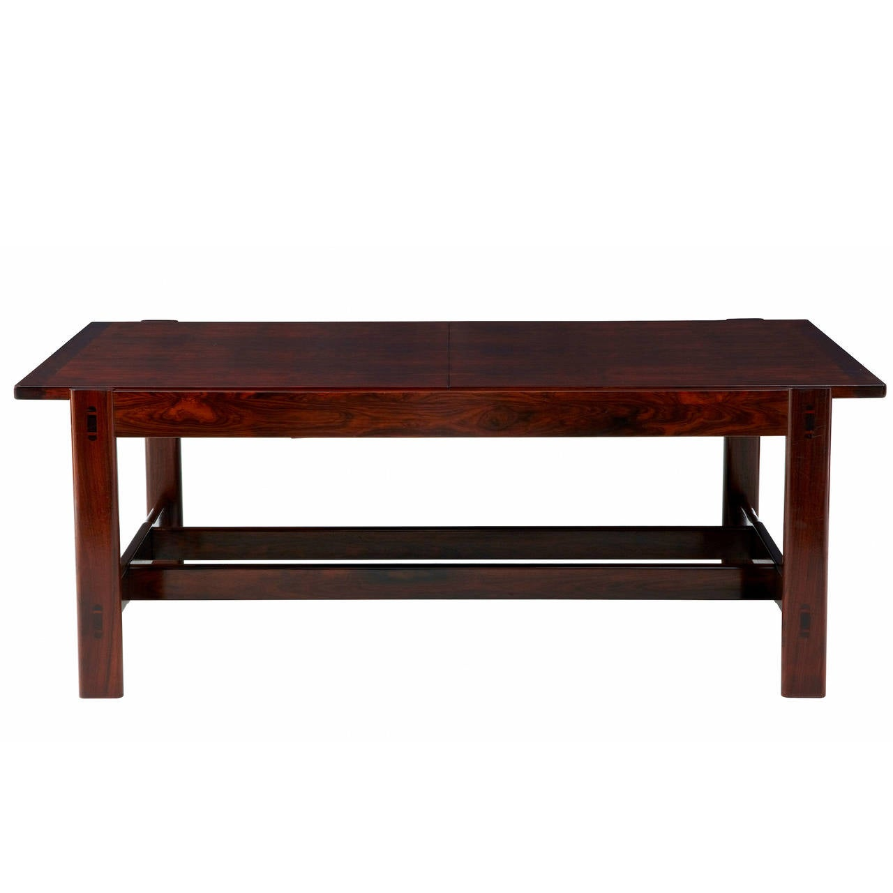 20th Century Danish Rosewood Extending Coffee Table At 1stdibs