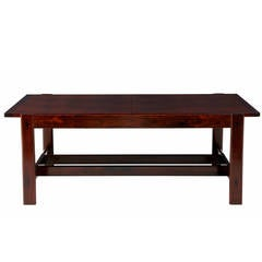 20th Century Danish Rosewood Extending Coffee Table