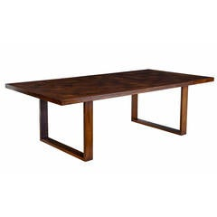 20th Century Contemporary Rosewood Coffee Table