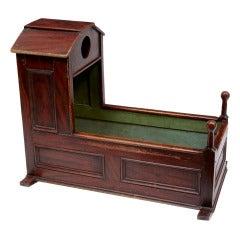 19th Century Antique Children's Cot Cradle