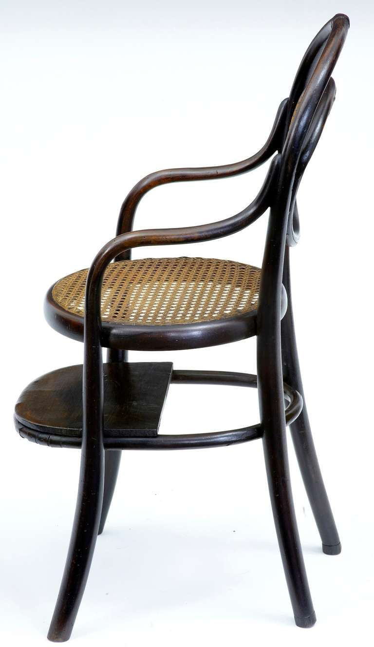 19th century antique thonet childs chair for sale at 1stdibs. Black Bedroom Furniture Sets. Home Design Ideas