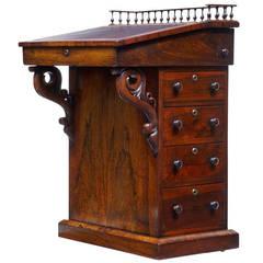 19th Century Regency Rosewood Davenport Desk