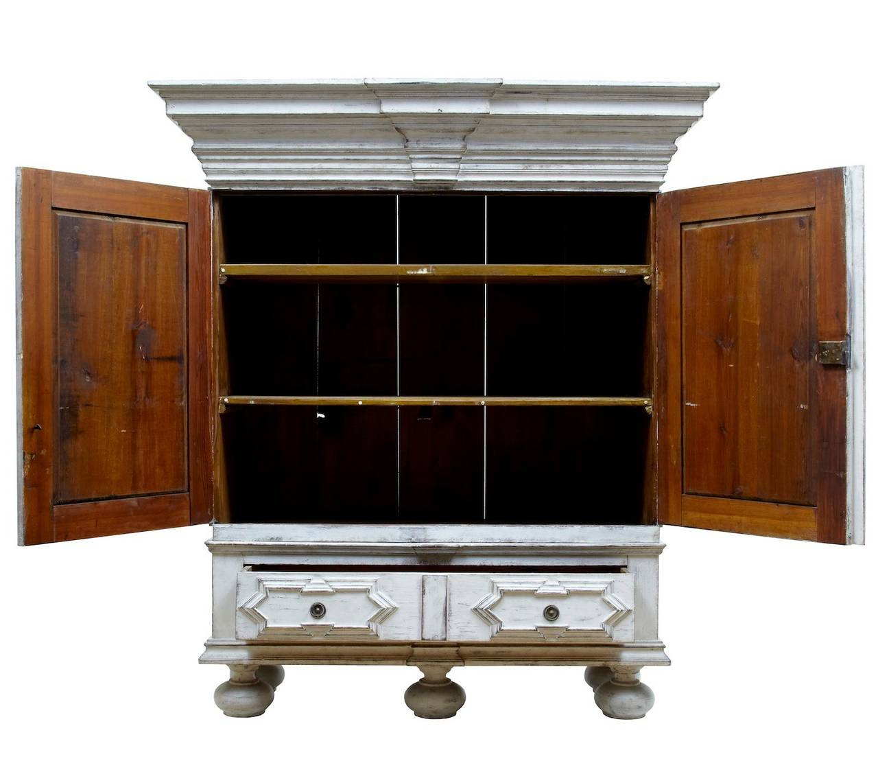 how to paint a kitchen cabinet 19th century painted swedish cabinet cupboard at 8786