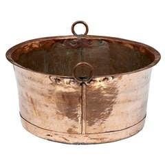 Large 19th Century Cooper Pot