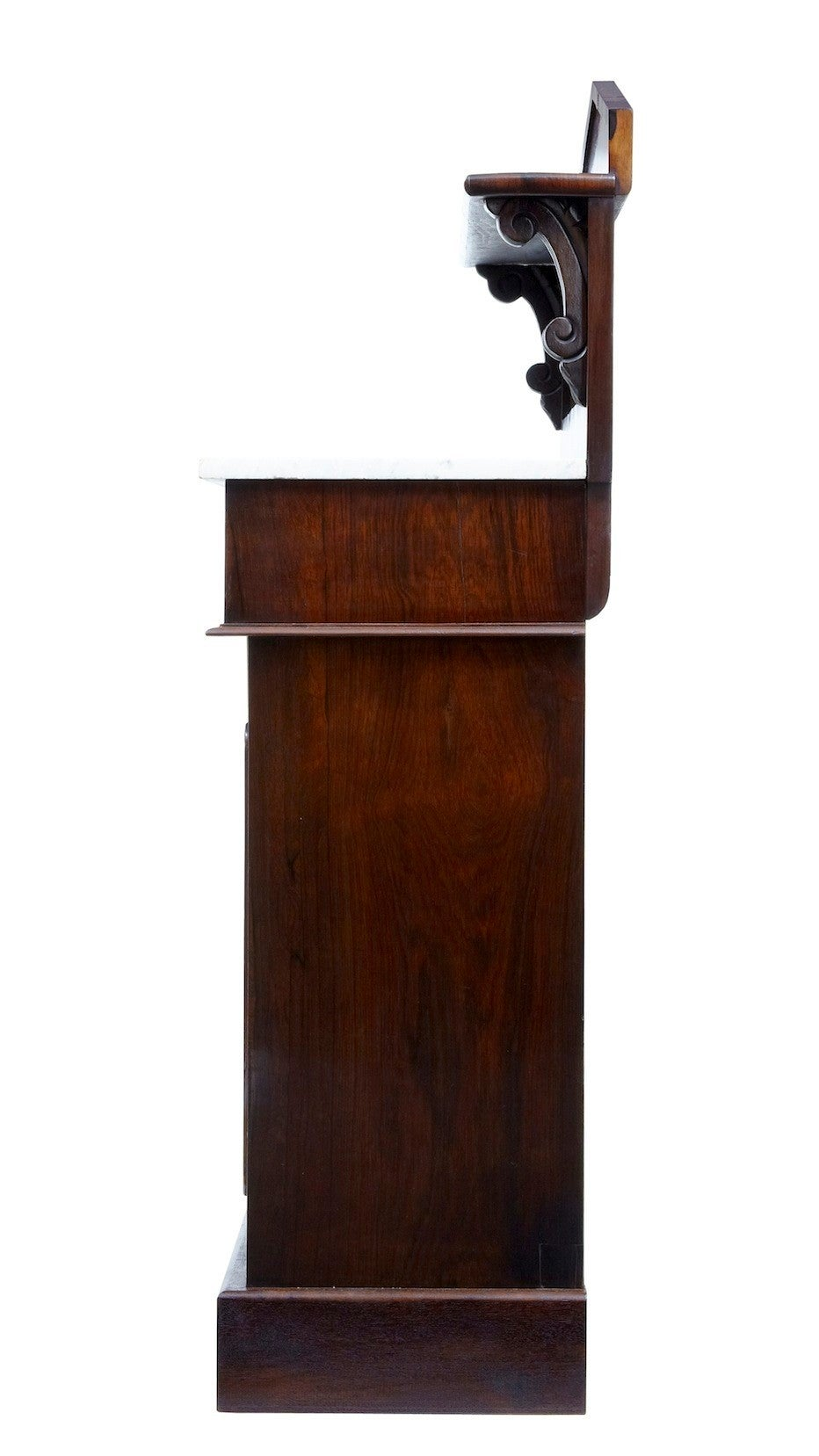 English William IV Rosewood Chiffionier Sideboard For Sale