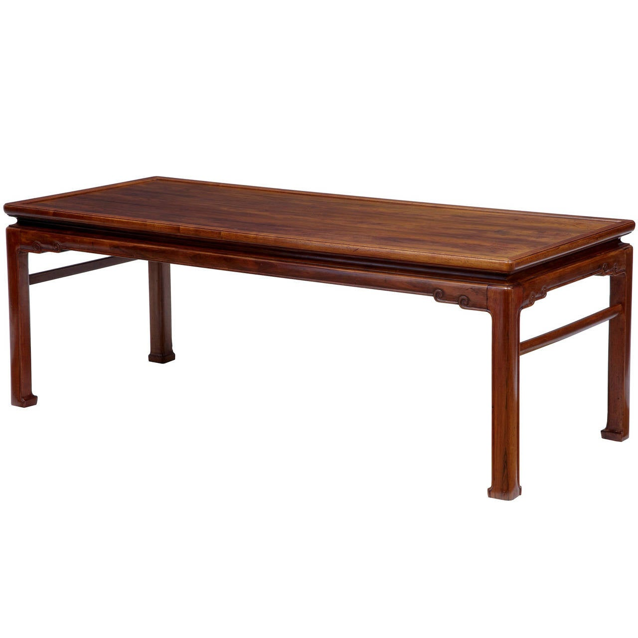 Mid 20th Century Chinese Hard Wood Coffee Table At 1stdibs