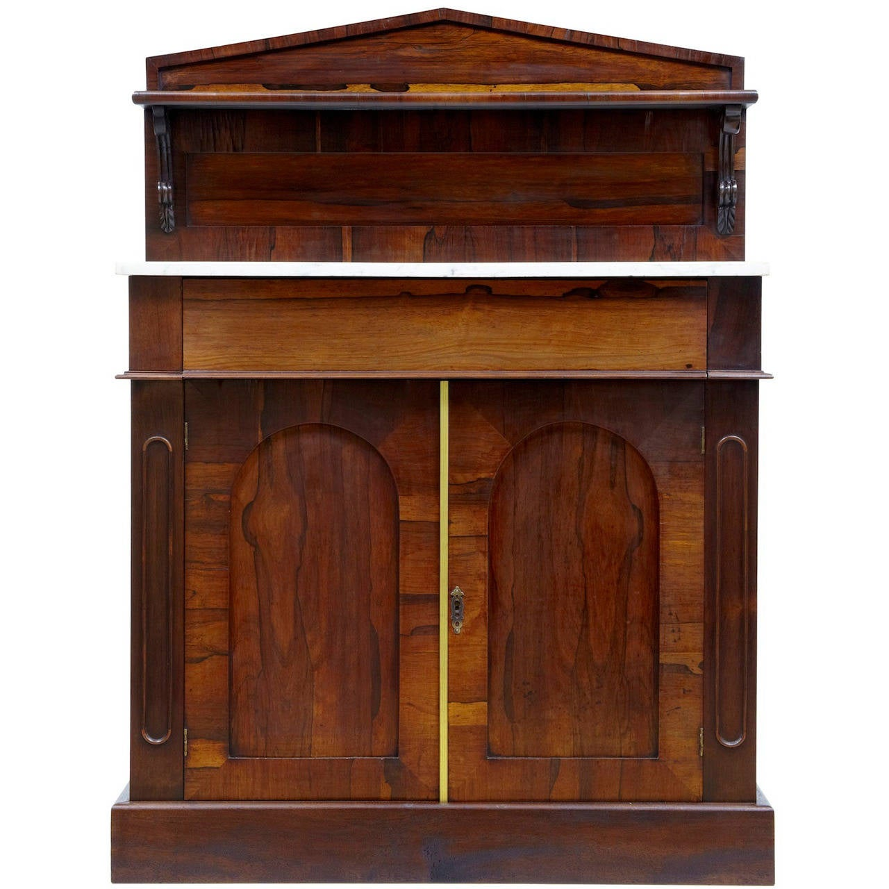 William IV Rosewood Chiffionier Sideboard For Sale