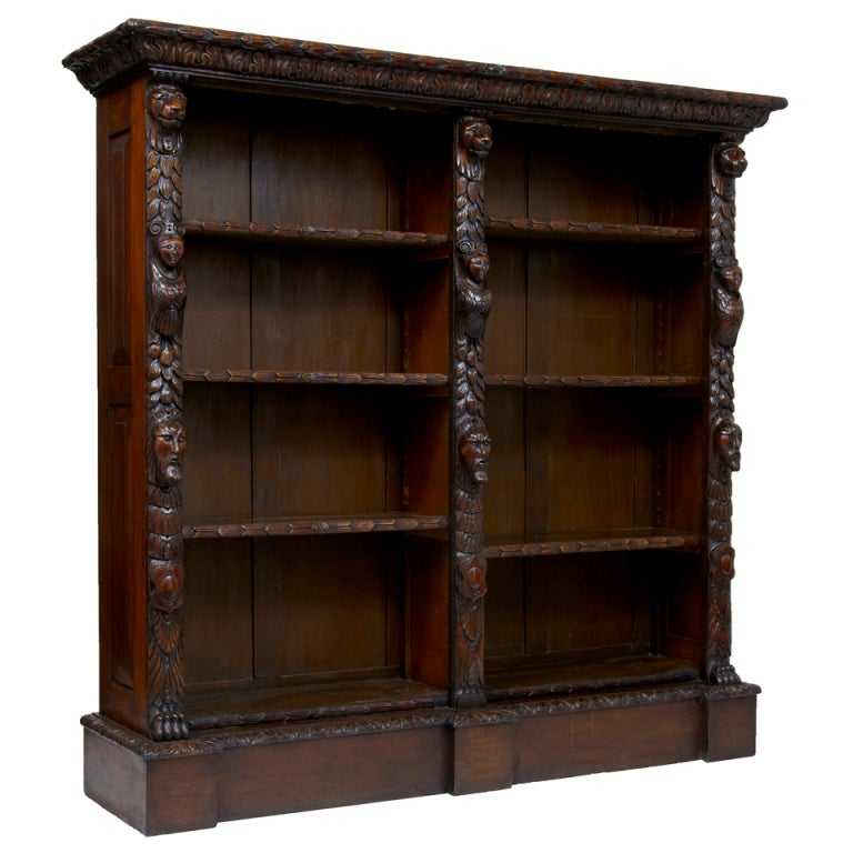 oak bookcase antiques 2