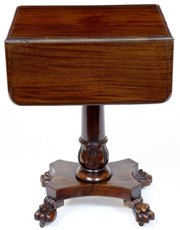 19th Century Antique Drop Leaf Antique Drop Leaf Table