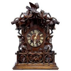 19th Century Antique German Black Forest Cuckoo Clock