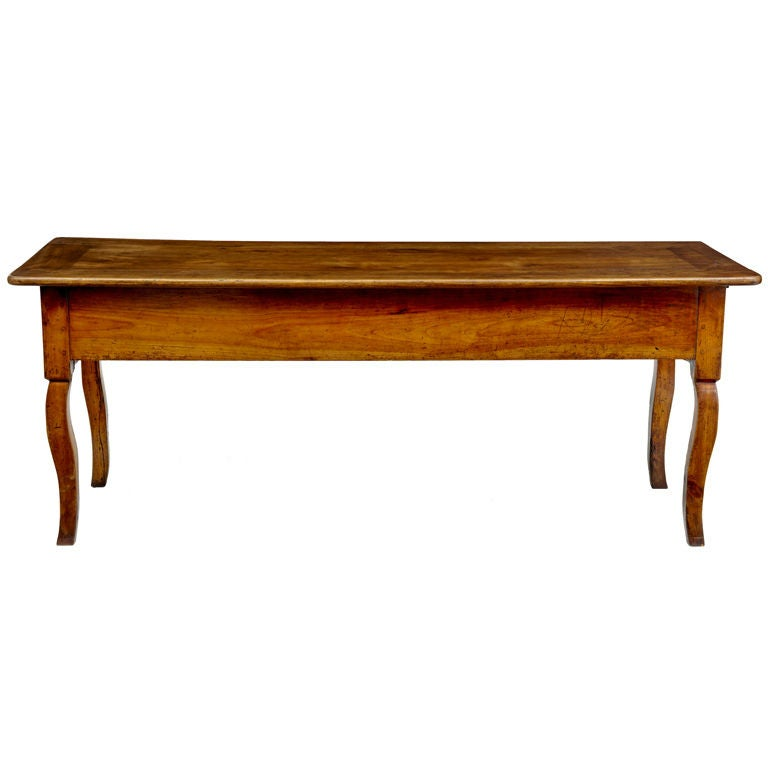 Cherry Wood Antique French Farmhouse Table At 1stdibs