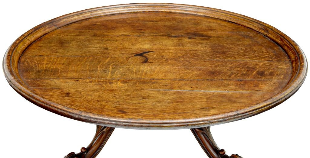 Large Lazy Susan Delectable Large Antique Victorian Solid Oak Lazy Susan Table At 60stdibs
