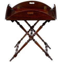 19th Century Antique Mahogany Butlers Tray