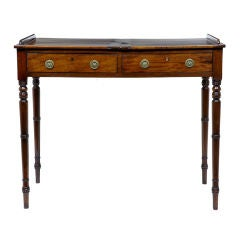 19th Century Antique Mahogany Double Sided Reading Table