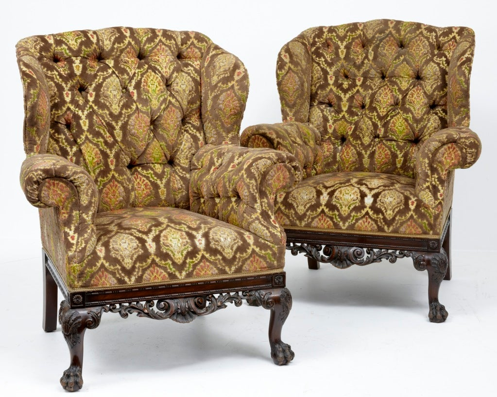 19th Century Antique Irish Chippendale Sofa And Chairs At 1stdibs