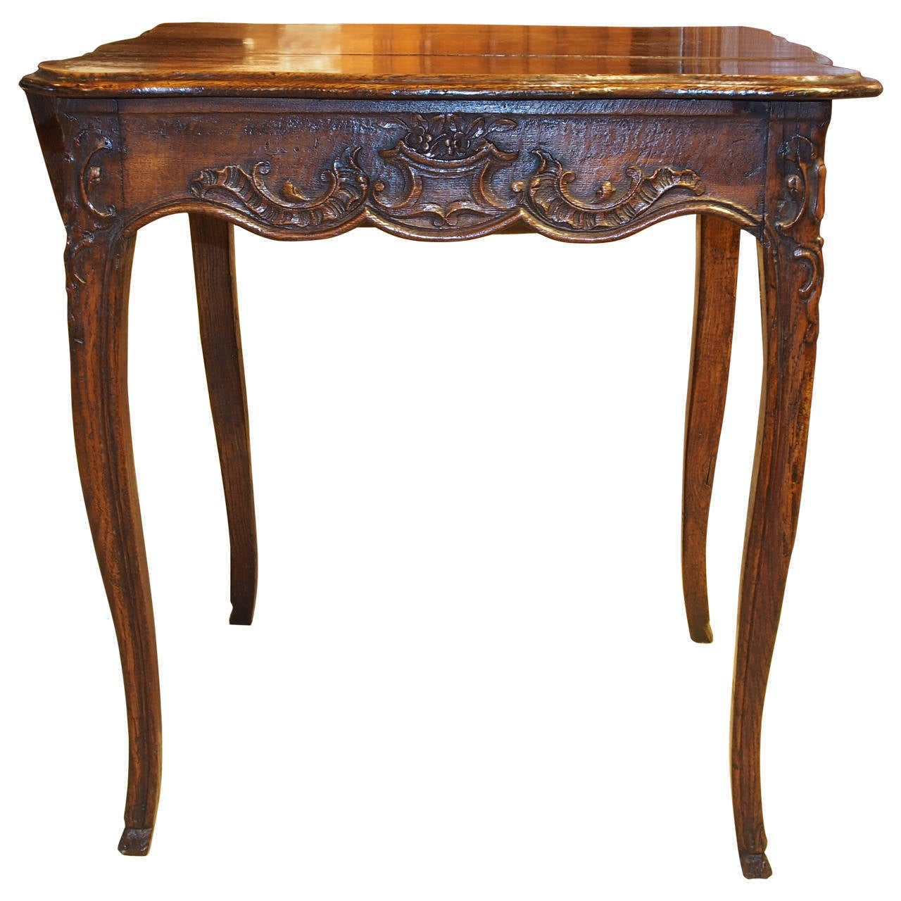 Louis xv oak table at 1stdibs - Table louis xv ...
