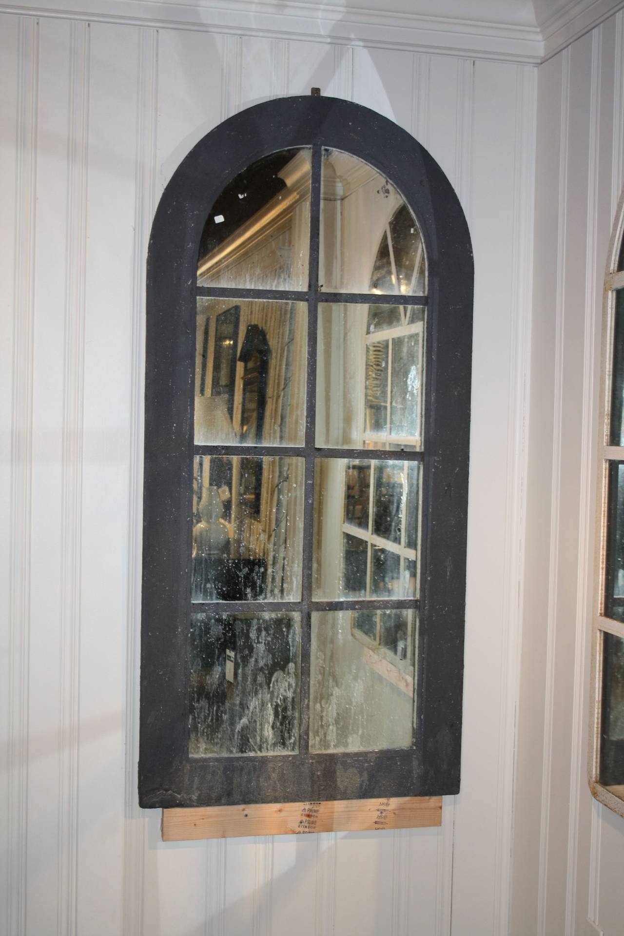 Iron Arched Mirror For Sale At 1stdibs