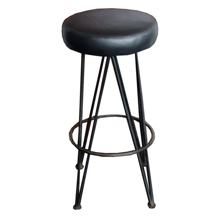 1960s heavy duty industrial iron bar stools 8 available  : XXX878812844079941 from www.1stdibs.com size 768 x 768 jpeg 31kB