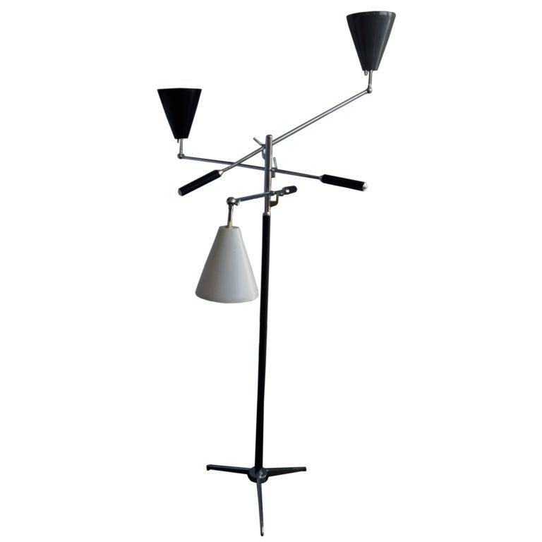 1950s Triennale Floor Lamp from Arredoluce