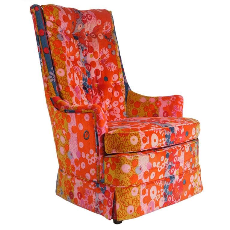 1960's Jack Lenor Larsen armchair