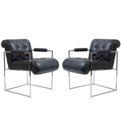 12 Milo Baughman Dining or Side Chairs