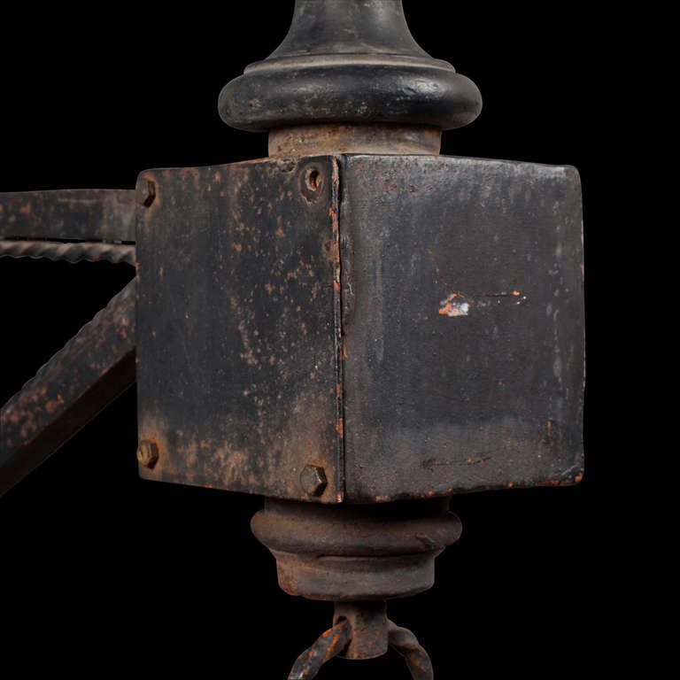 Cast Iron Outdoor Sconce at 1stdibs