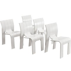 Gijs Bakker Set of Five Dining Chairs