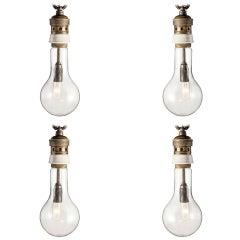 Large Italian Bulb Pendant