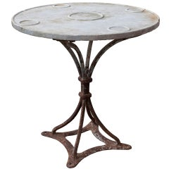 Maritime Marble Topped Table