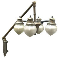 Rare Large Scale Telescoping Medical Light