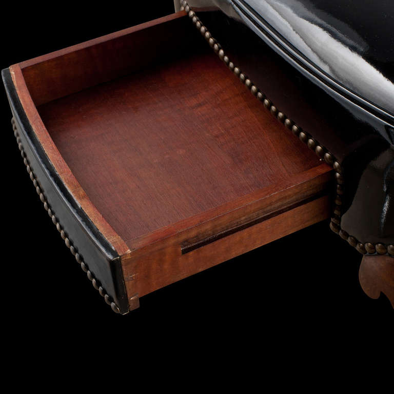 writers leather chair at 1stdibs