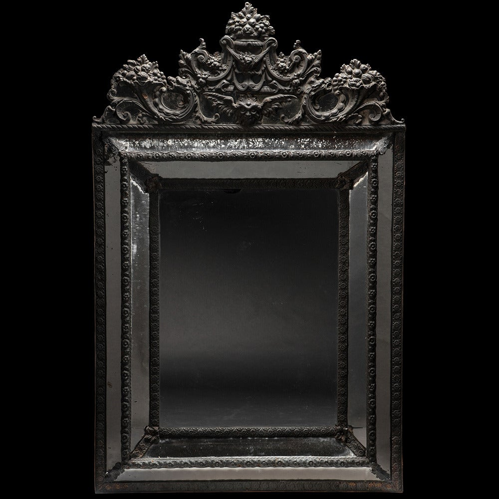 ornate black mirror at 1stdibs