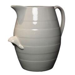 Oversized Double-Handle Ceramic Jug