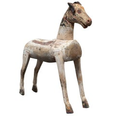 Primitive Horse from Children's Rocking Toy