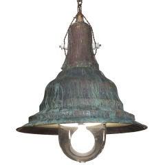 Oversized Industrial Copper Street Light