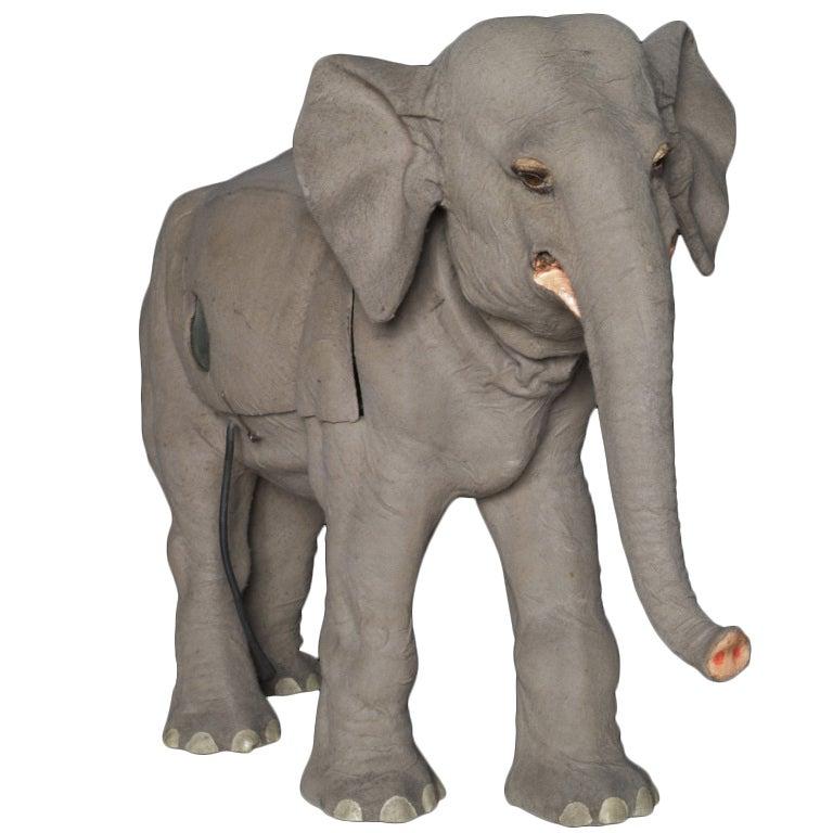 Elephant Automaton In Felt