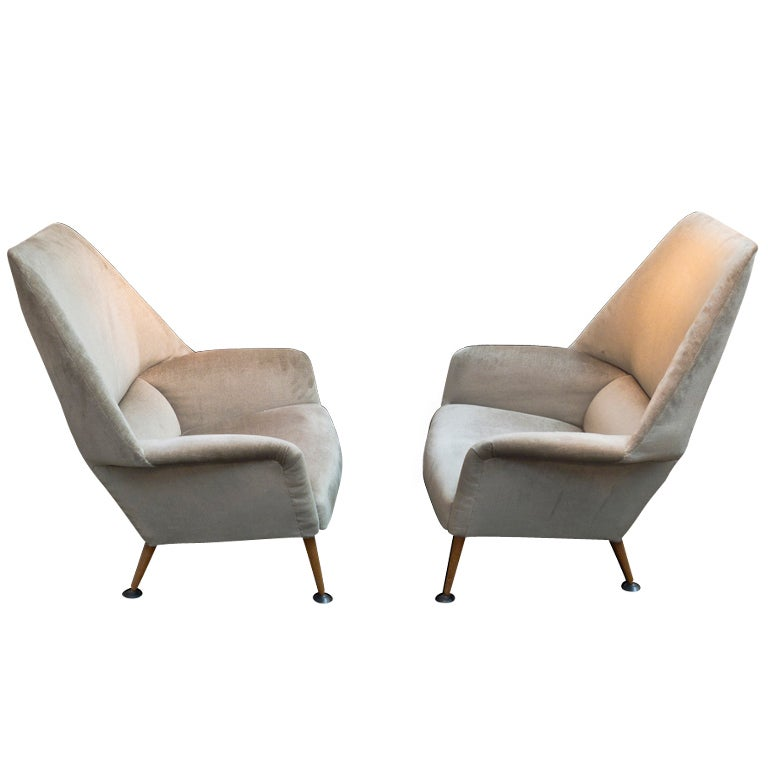 "Ernest Race ""Flamingo"" Chairs at 1stdibs"