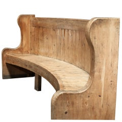 Monumental French Chateau Bench