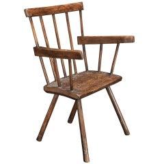 Primitive Stick Welsh Windsor Chair