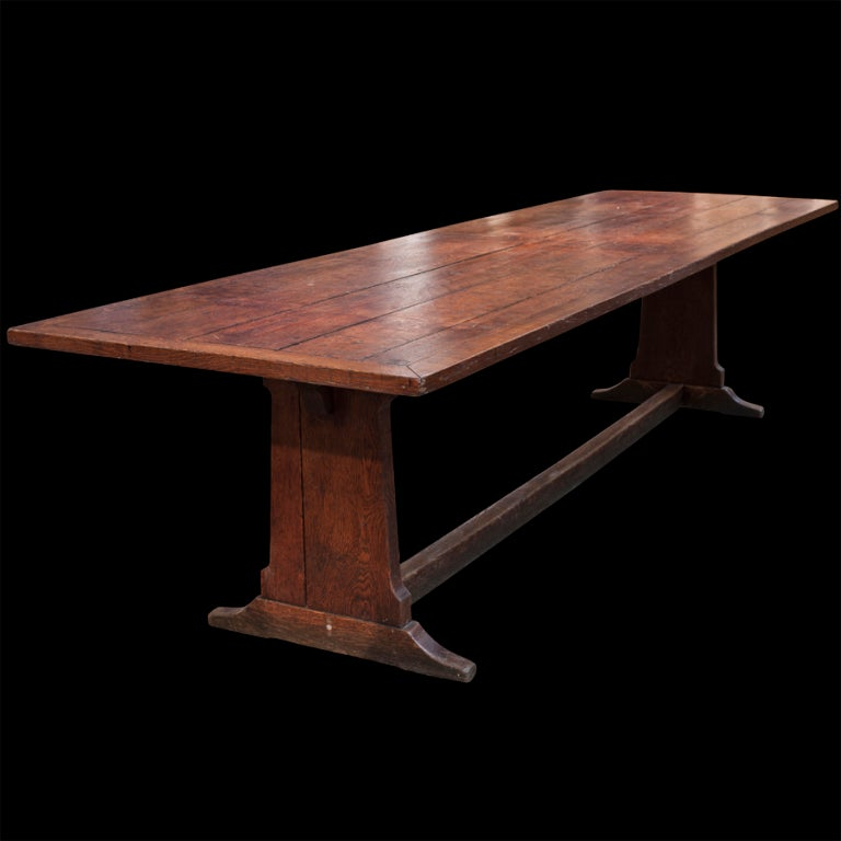 Monumental 10 foot dining table at 1stdibs for 10ft dining table