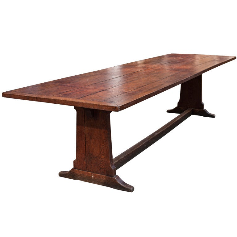 monumental 10 foot dining table at 1stdibs
