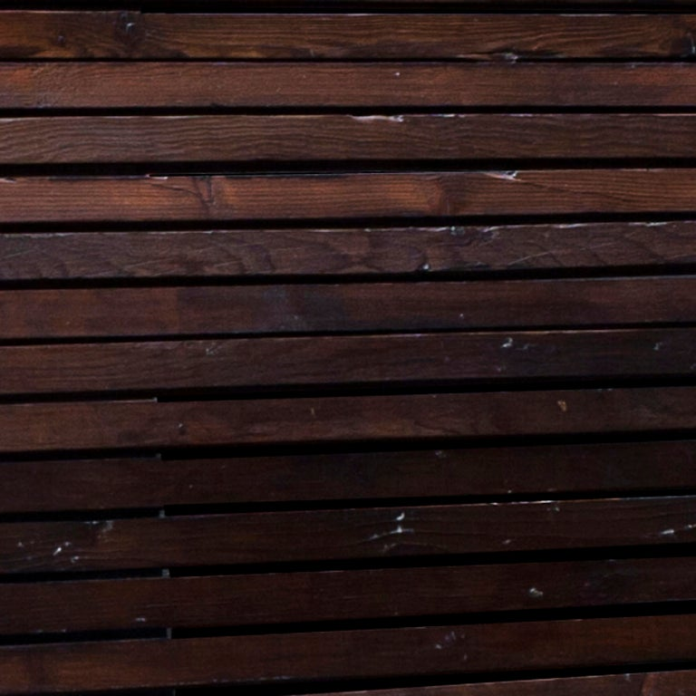 Slatted Garden Wood Bench image 5