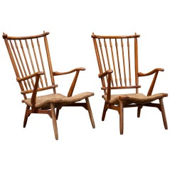 Pair of French Modern Chairs