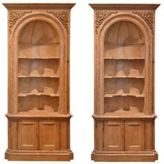 Pair of 19th Century, French, Corner Cabinets