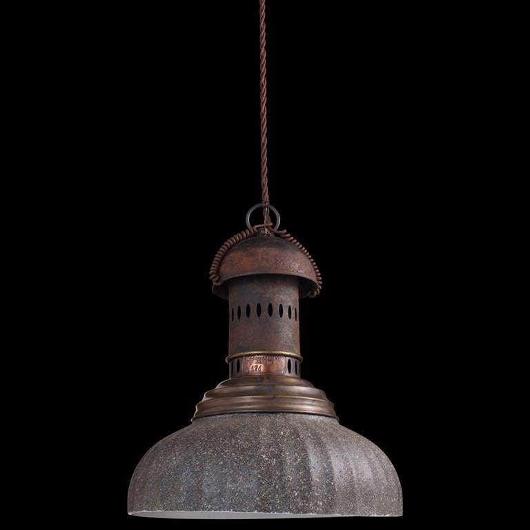 Industrial Grey Street Lamp At 1stdibs