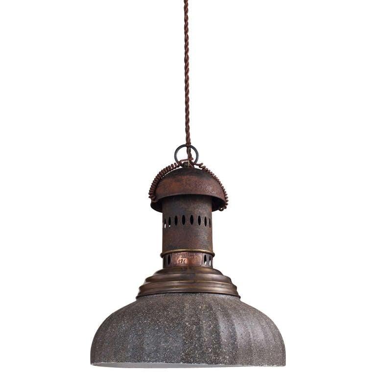 industrial grey street lamp for sale at 1stdibs. Black Bedroom Furniture Sets. Home Design Ideas