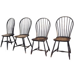 Bow Back Windsor Dining Chairs