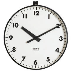 Gents of Leicester Factory Clock
